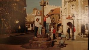 Grainy 80s Disney World